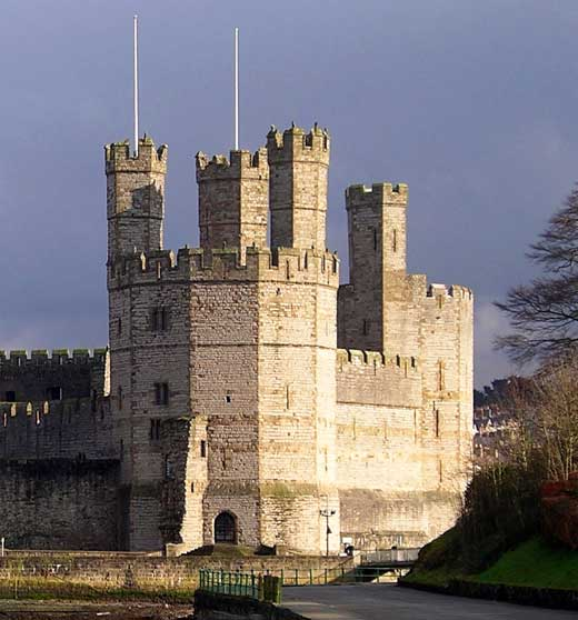 Caernarfon Castle, Wales / by Master James of St George