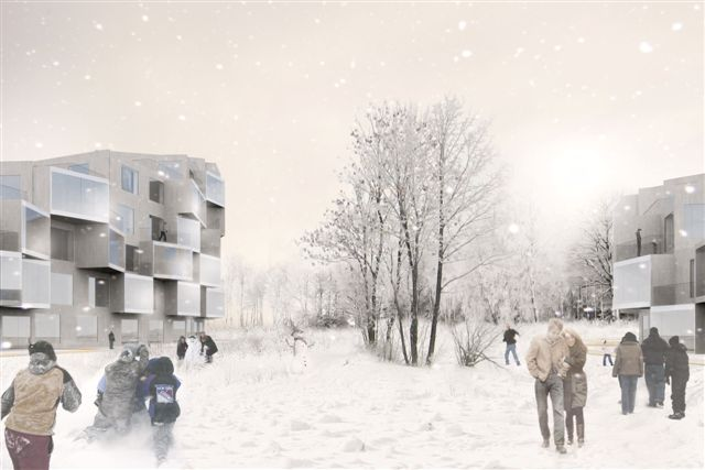 PUU-BO wooden multi-story buildings / by BIG