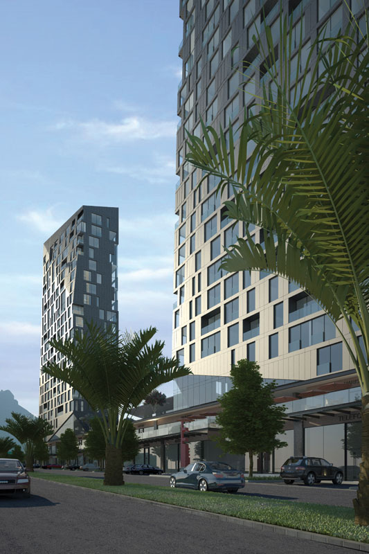 MAGMA TOWERS, Monterrey / by GLR arquitectos
