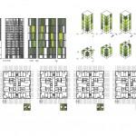 Social Housing of 77 Units in Placa Europa, L'Hospitalet, Barcelona / by Roldan + Berengué, arqts