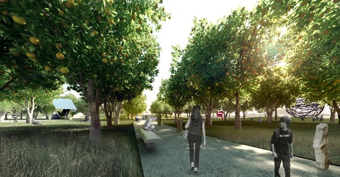 Master Plan for 100-Acre Parque de Levante in Murcia, Spain / by K/R Architects