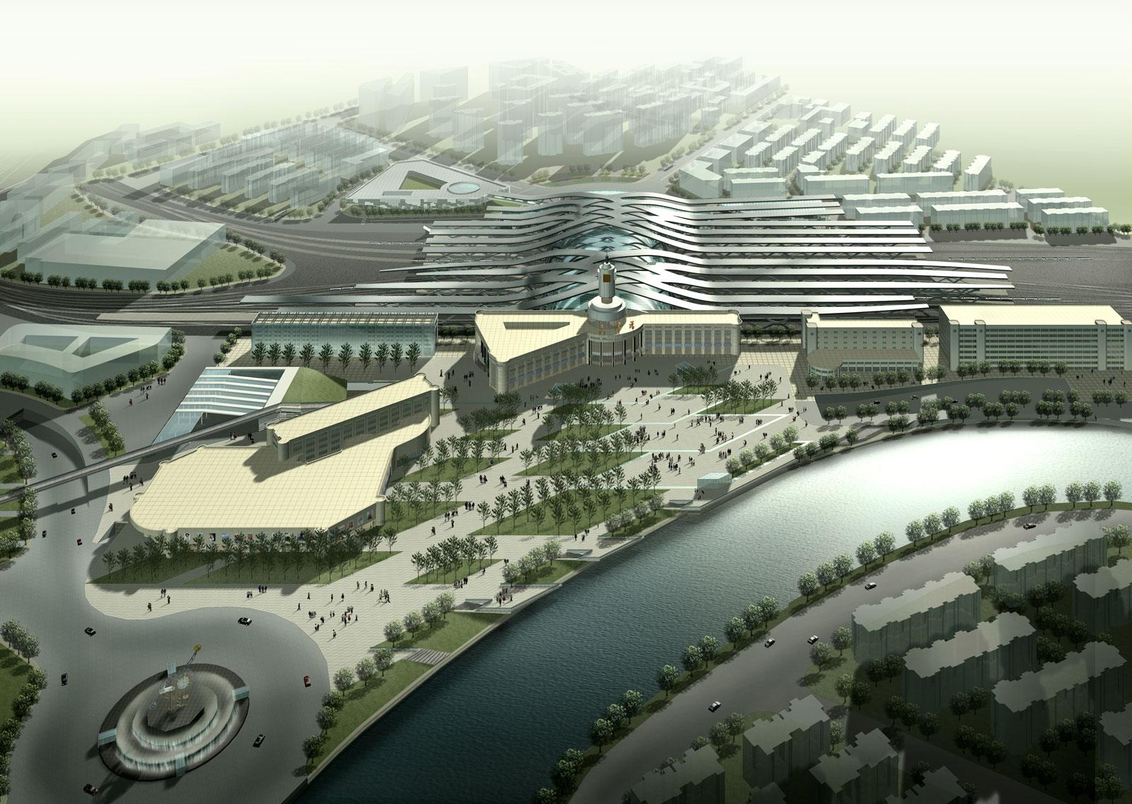 RR Station, Tianjin, China / by de Architekten Cie.