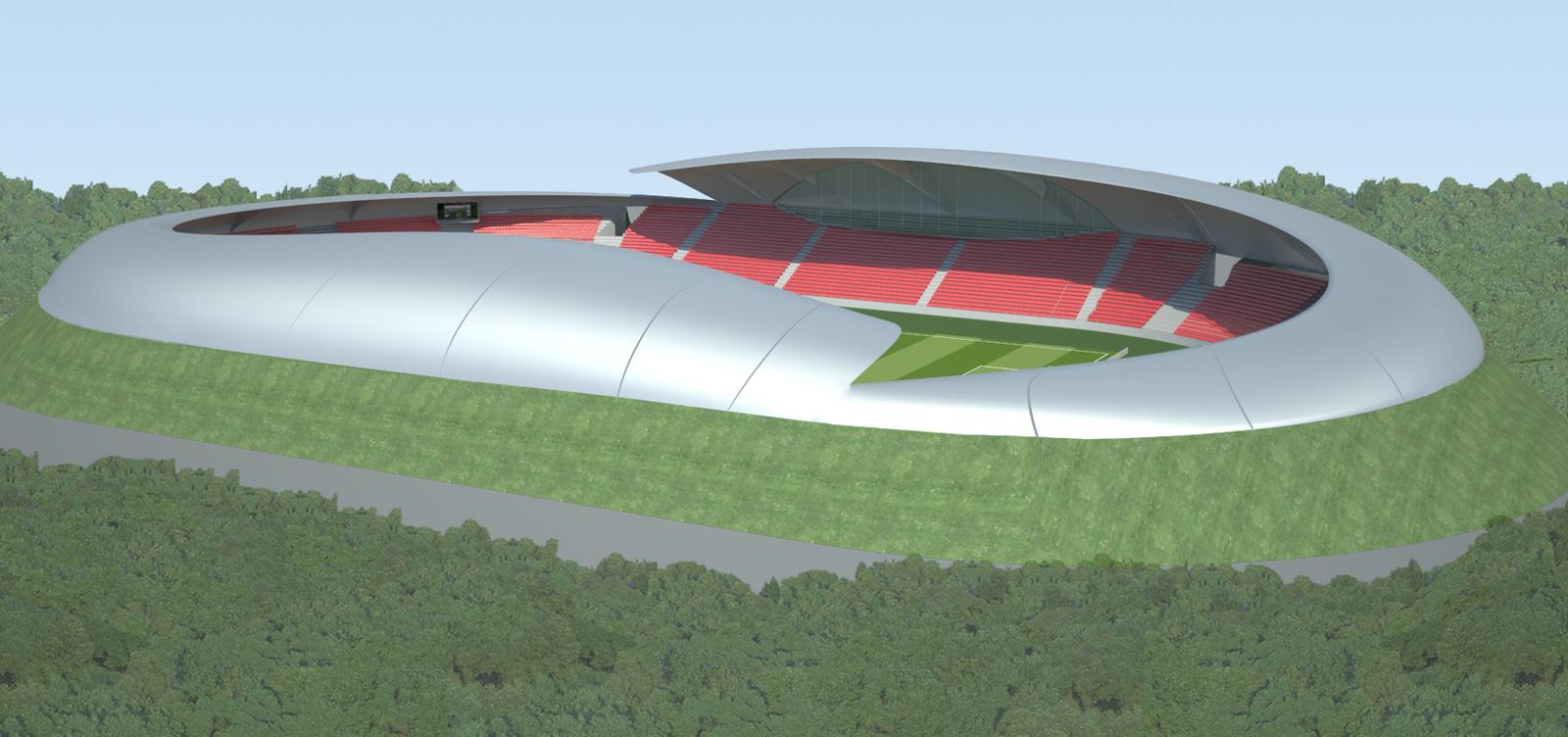 CSKA Sofia Soccer Stadium Remodel / by Design Initiatives
