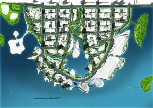 Masterplan for a CBD in Pingtan / by IO DESIGN