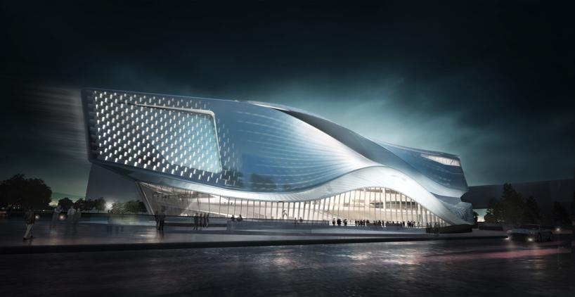Dalian Museum Competition Design Concept / by IO DESIGN