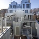 'M' BUILDING in Rue Rebière, Paris / BY STÉPHANE MAUPIN ARCHITECTES + DESIGN & NICOLAS HUGON ARCHITECTES