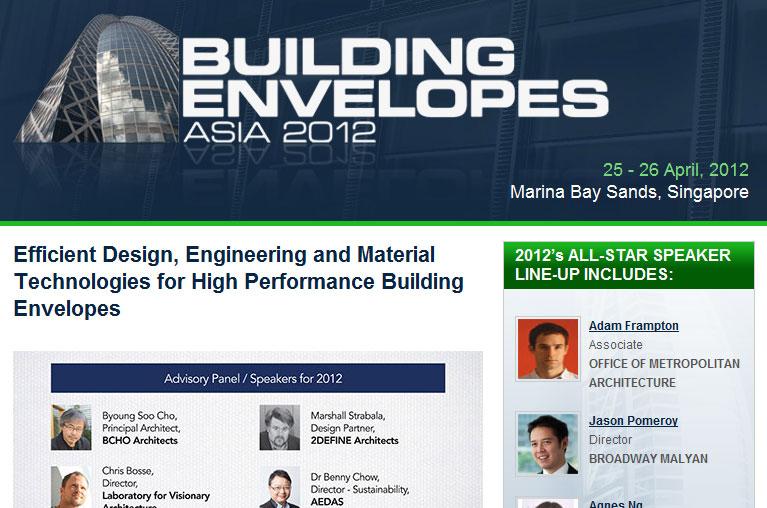 Building Envelopes Asia 2012