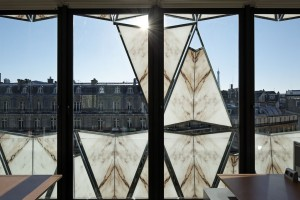 ORIGAMI BUILDING in PARIS, France / by Manuelle Gautrand Architecture