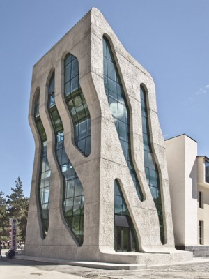 Police Station, Mestia / by J. MAYER H. Architects
