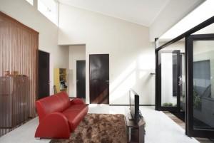 Vertical Barcode House by Gayuh Budi Utomo